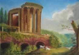 Hackerts Tempel der Sybille